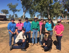 Charters Towers 2016 Certificate II Agriculture Hoof Care Training