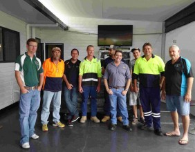 Group 2 of Jenagar Cert II Program